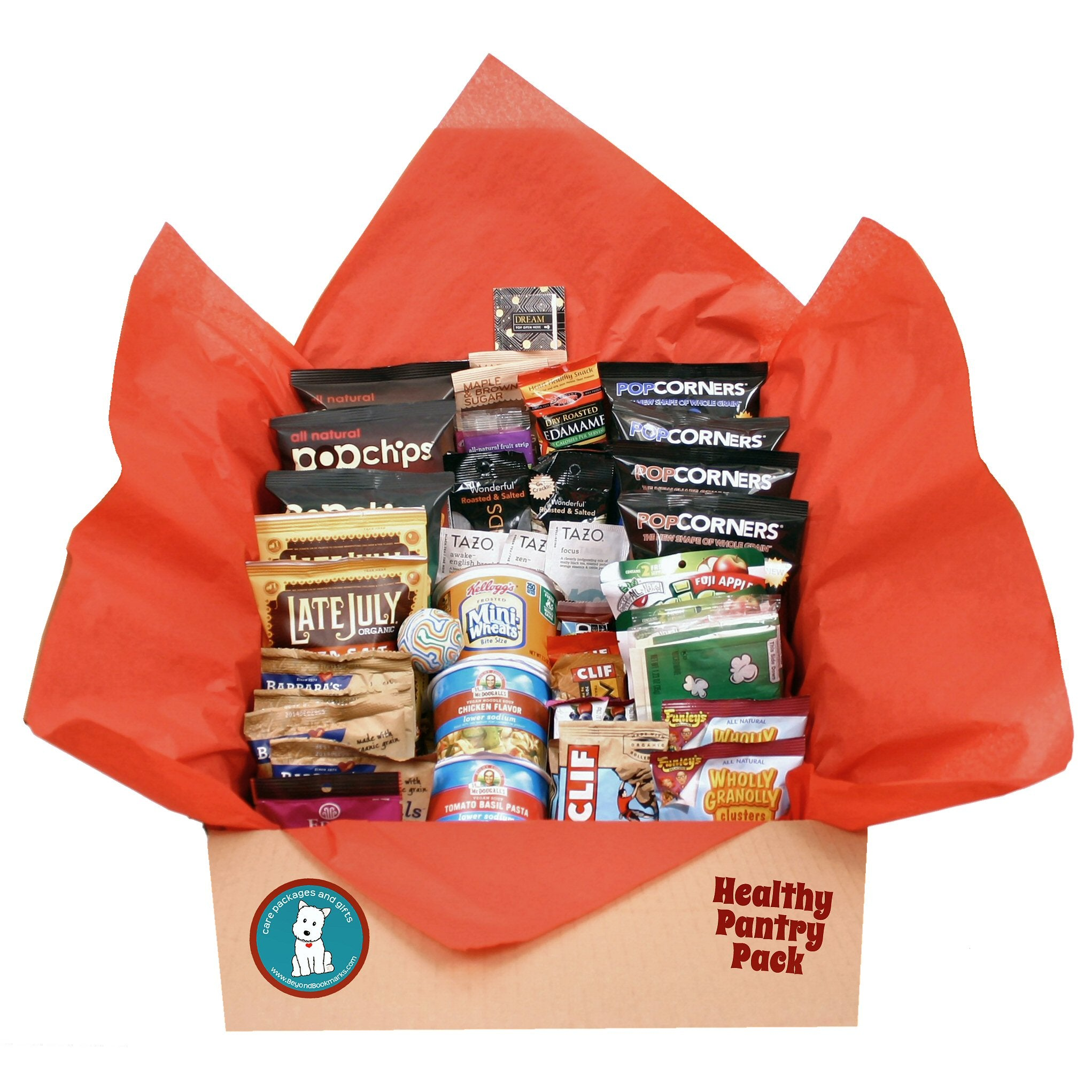 Healthy Pantry Pack - Over 40 Snacks - beyondbookmarks.com