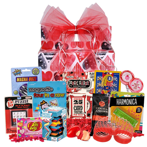 Retro-rama Classic Toys Basket for Valentine's Day