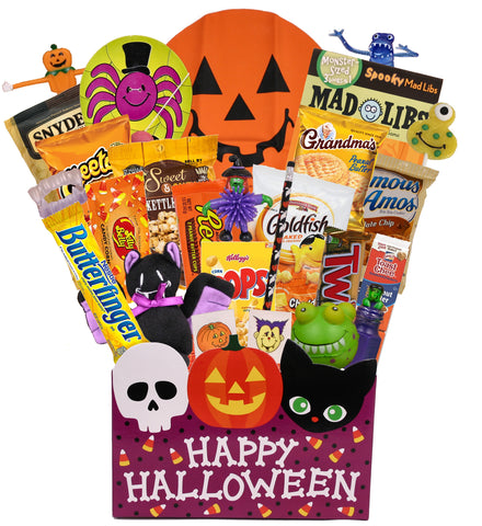 Tricks & Treats - Kids Halloween Basket - beyondbookmarks.com