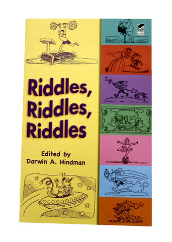 Riddles Book - beyondbookmarks.com