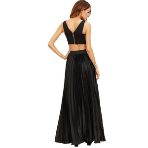 Andrea Pleated Skirt