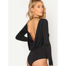 Piper Open Back Bodysuit