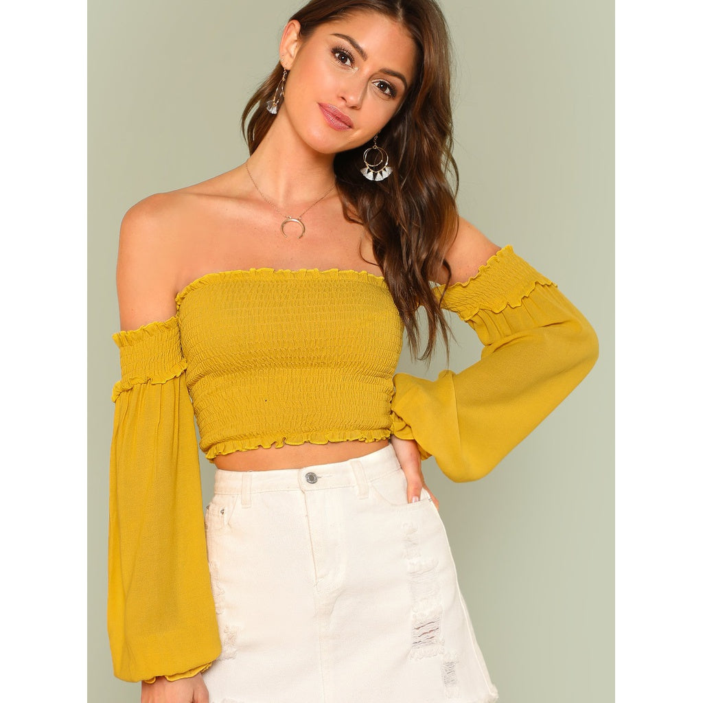 Stella Bishop Sleeve Crop