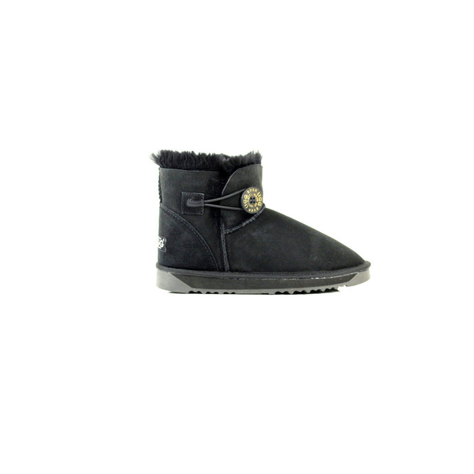 Ladies Mini Button UGG Boots