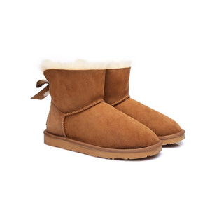Ladies Bailey Bow Mini Classic UGG Boots