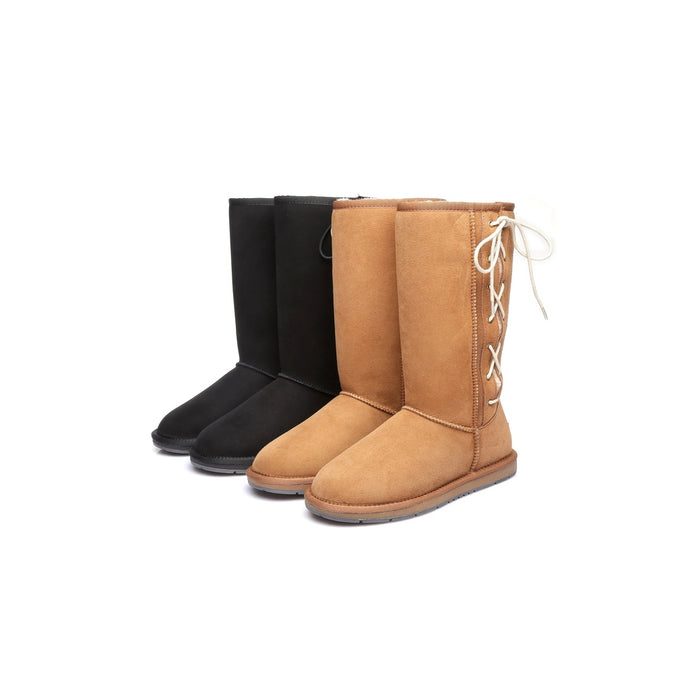 Tall Side Lace Up UGG Boots