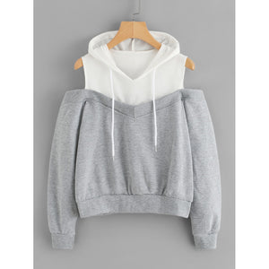 Elita Cold Shoulder Hoodie