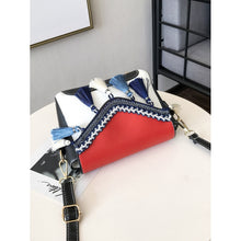 Red Flap Shoulder Bag