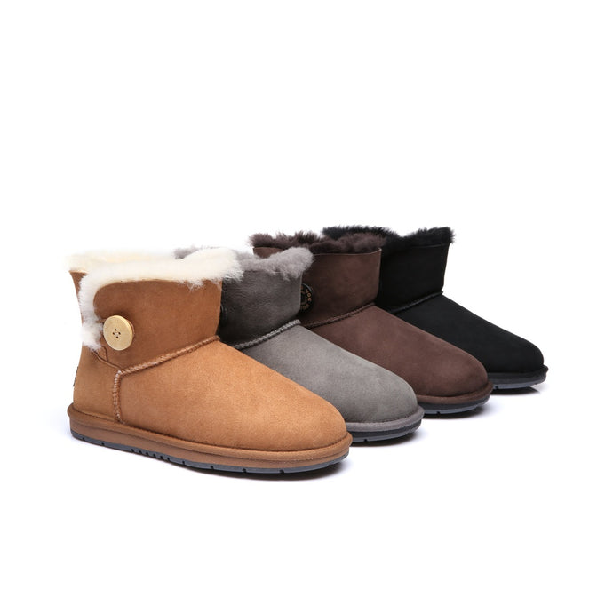 Ladies UGG Boots Mini Button