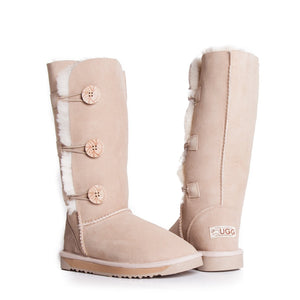 Ladies Tall Button UGG Boots