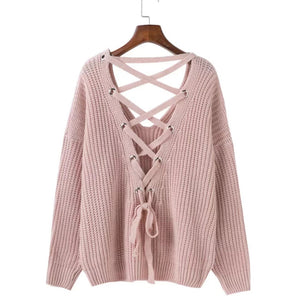 Pamela Open Back Knit