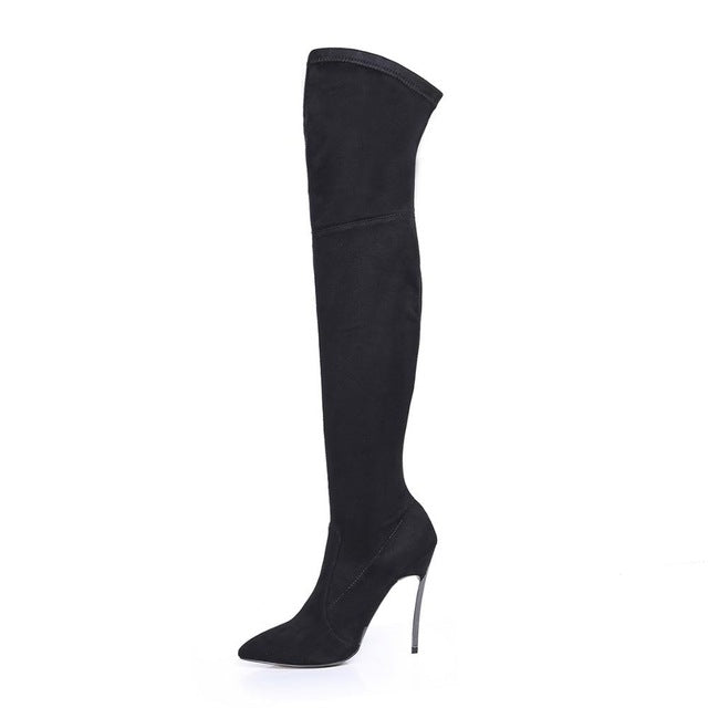 Brooke Slim Thigh High Boot