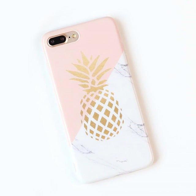 Gold Pineapple Phone Case