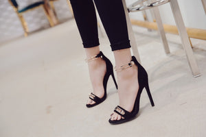 Tracey Ankle Strap Heel