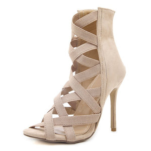 Sidney Cross-tied Heel