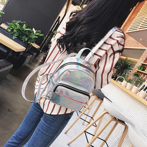 Krystal Hologram Backpack