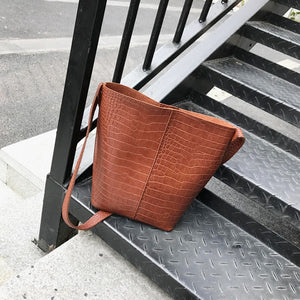 Poppy Bucket Crossbody Bag