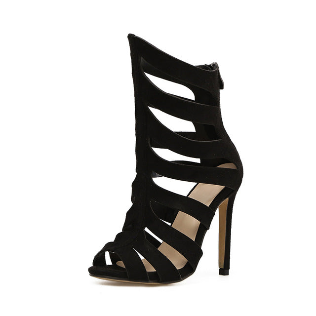 Willow Gladiator Peep Toe Heel