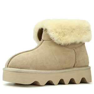 Wool Fur Comfortable Ankle Women Boots