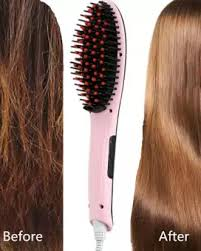 FAST HAIR STRAIGHTENING BRUSH with FREE SURPRISE GIFT ITEM