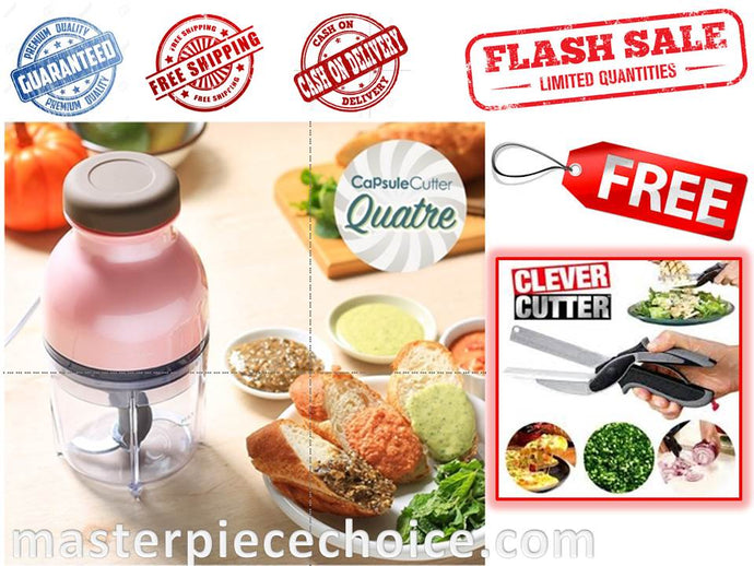 ALL in 1 CAPSULE CUTTER - FLASH SALE with FREE CLEVER CUTTER