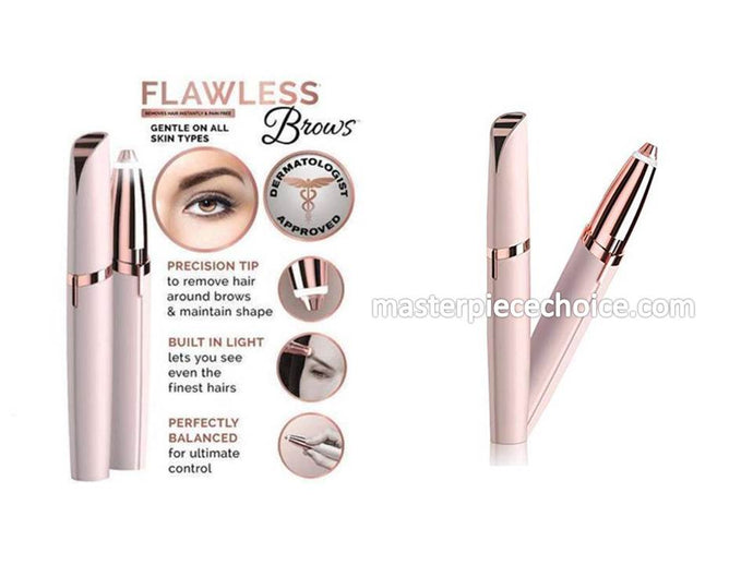 PORTABLE EYEBROW HAIR REMOVAL/ TRIMMER ( EPILATOR ) - BUY 1 GET 1 FREE