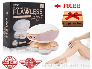 FLAWLESS LEGS HAIR REMOVER ( 18k GOLD PLATED ) - with FREE GIFT ITEM