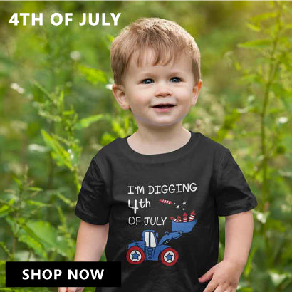 Love USA 4th of July American Heart Flag Toddler//Kids Girls Fitted T-Shirt