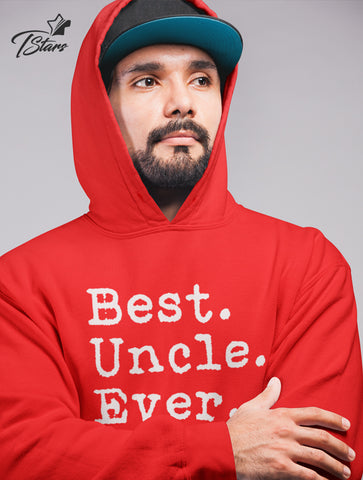 Best Uncle Ever! Great Uncle Gift Idea from Nephew & Niece Hoodie