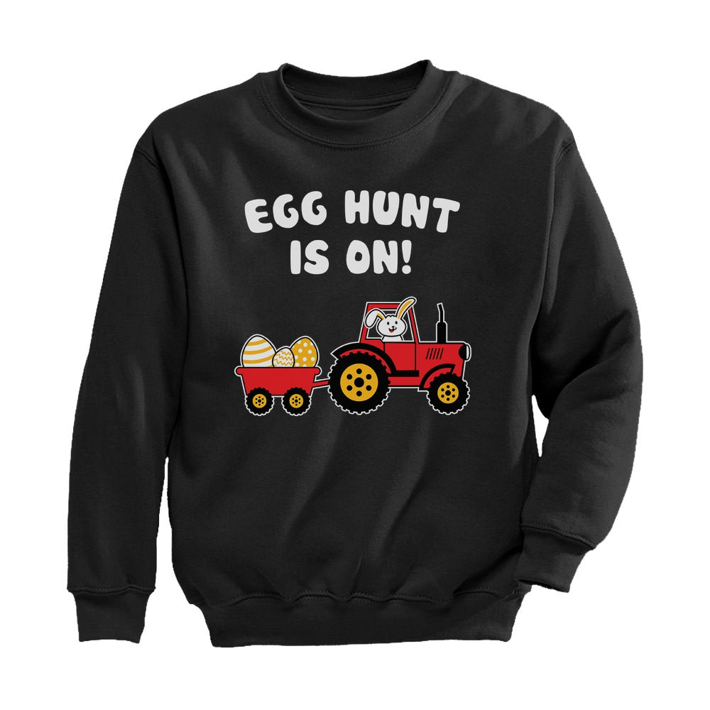 Easter Egg Hunt Gift Toddler Kids Sweatshirt