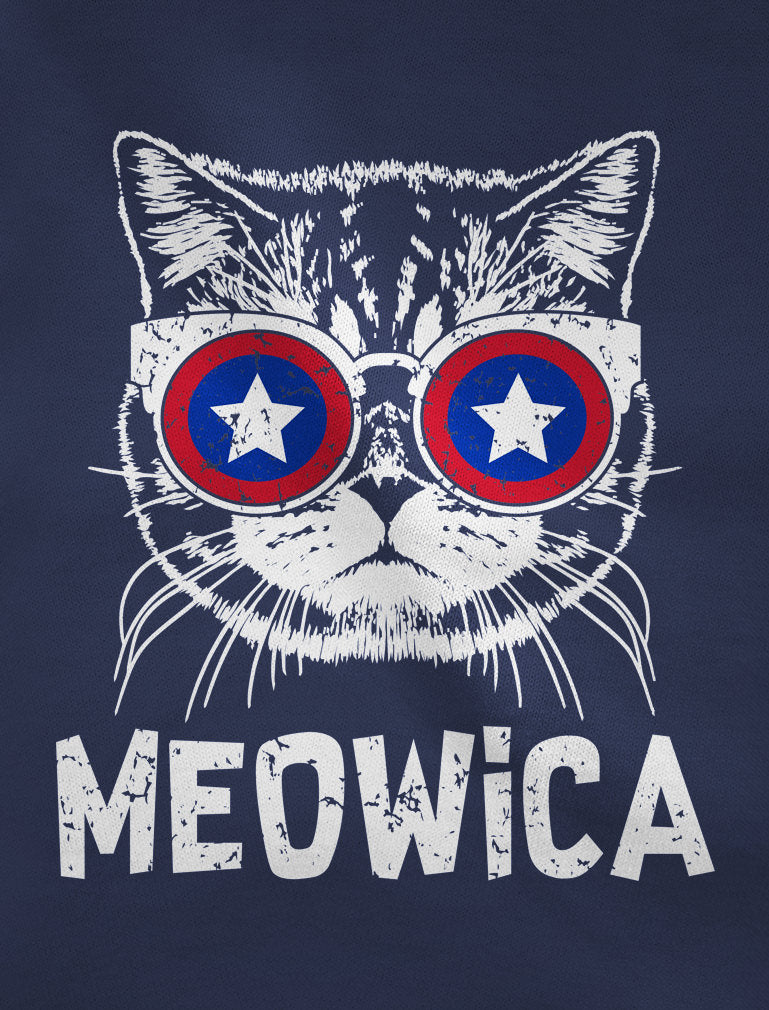 Meowica America Patriot Cat 4th of July Women Tank Top