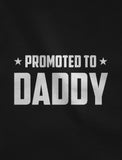 Promoted To Daddy Fathers Day Gift for New Dads T-Shirt
