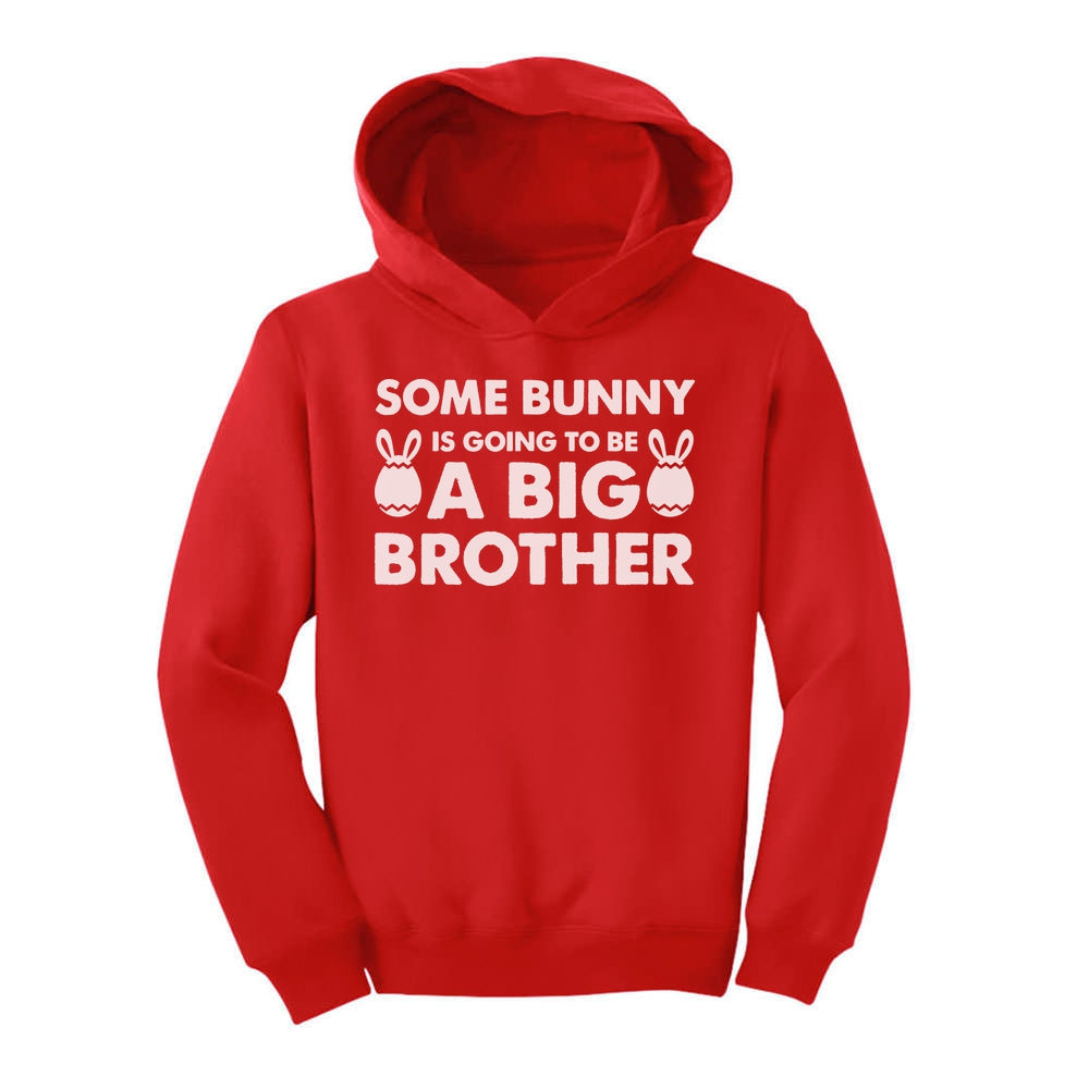 Some Bunny is Going To Be a Big Brother Toddler Hoodie