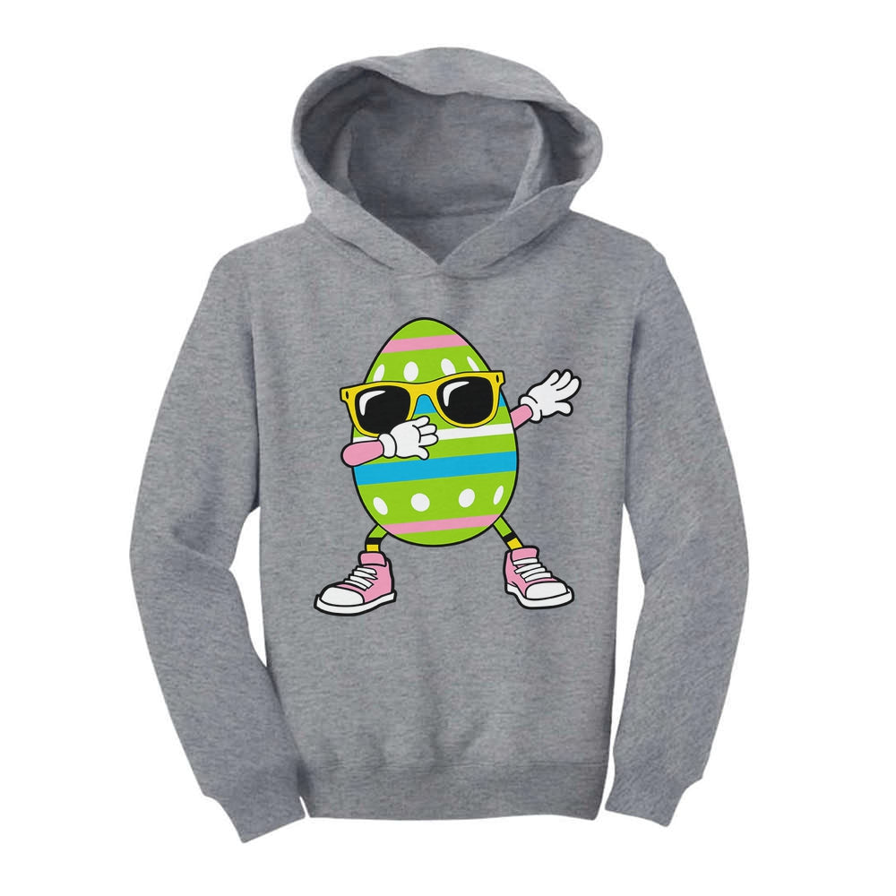 Easter Dab Funny Easter Egg Dabbing Toddler Hoodie