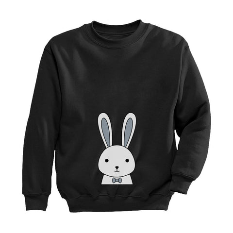 Tstars tshirts Cute Easter Bunny Rabbit Gift Idea Toddler/Kids Sweatshirt