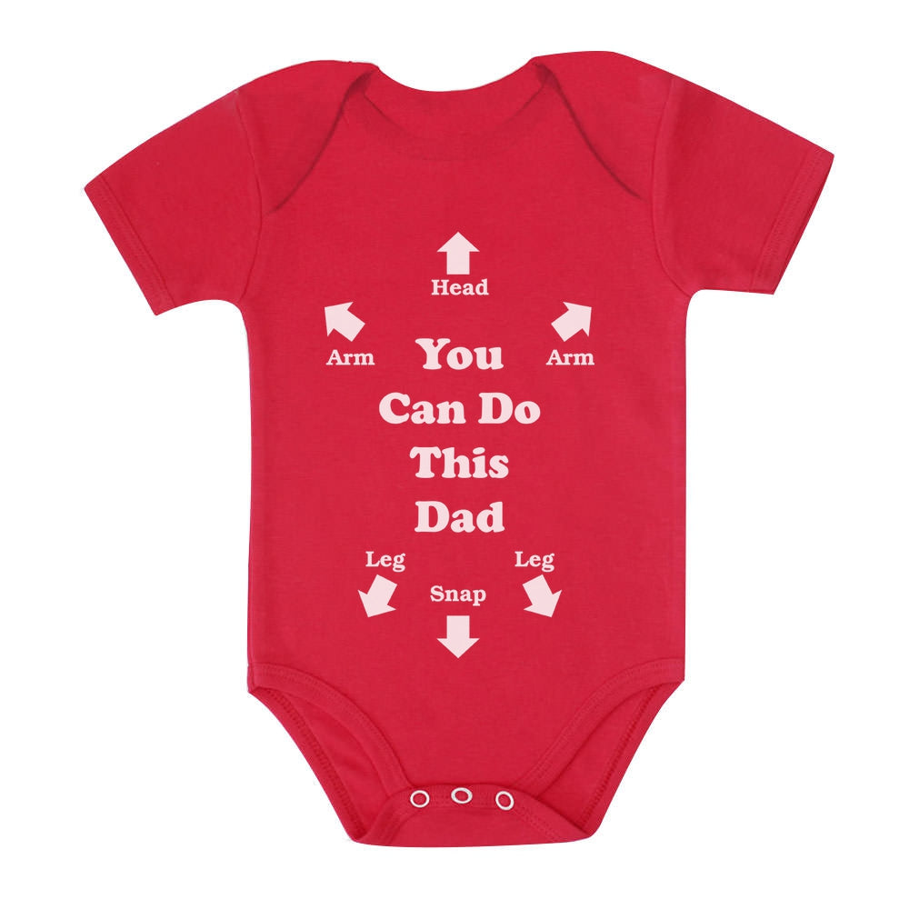 Funny You Can Do This Dad Baby Bodysuit