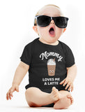 Mommy Needs a Coffee & Latte Matching Outfit for Mother and Baby Daughter / Son