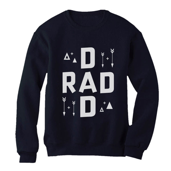 Tstars tshirts Rad Dad Father's Day Gift Sweatshirt