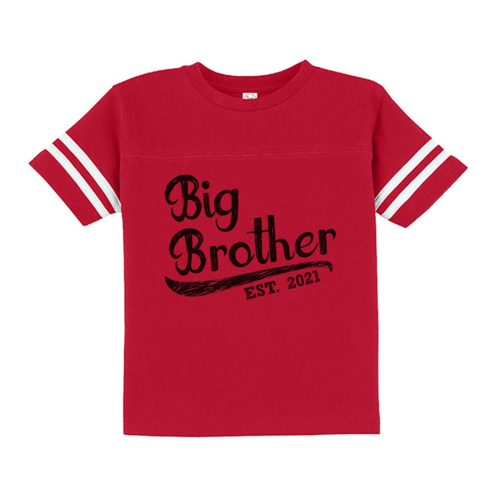 Big Brother 2021 Boys Toddler Jersey T-Shirt