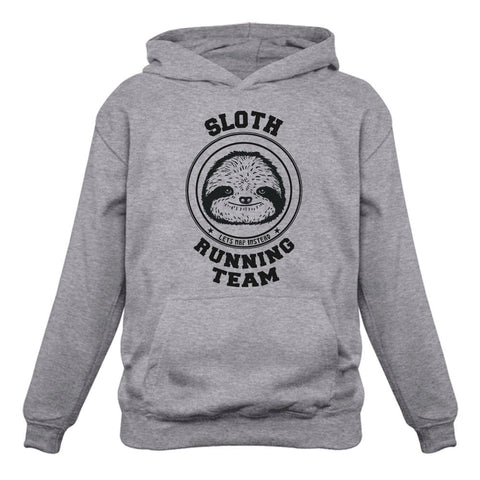 Tstars tshirts Sloth Running Team Let's Nap Instead Women Hoodie