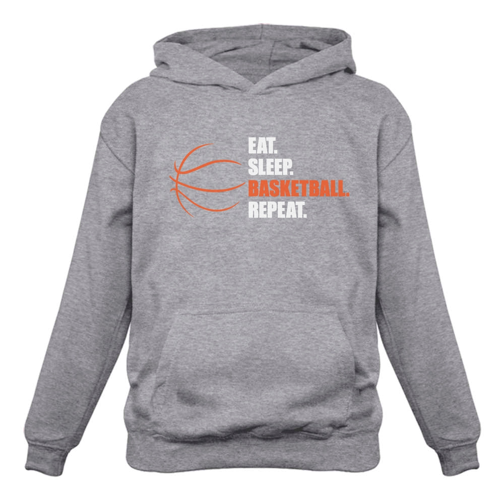 Eat Sleep Basketball Repeat Women Hoodie