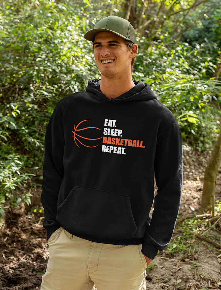 Eat Sleep Basketball Repeat Hoodie