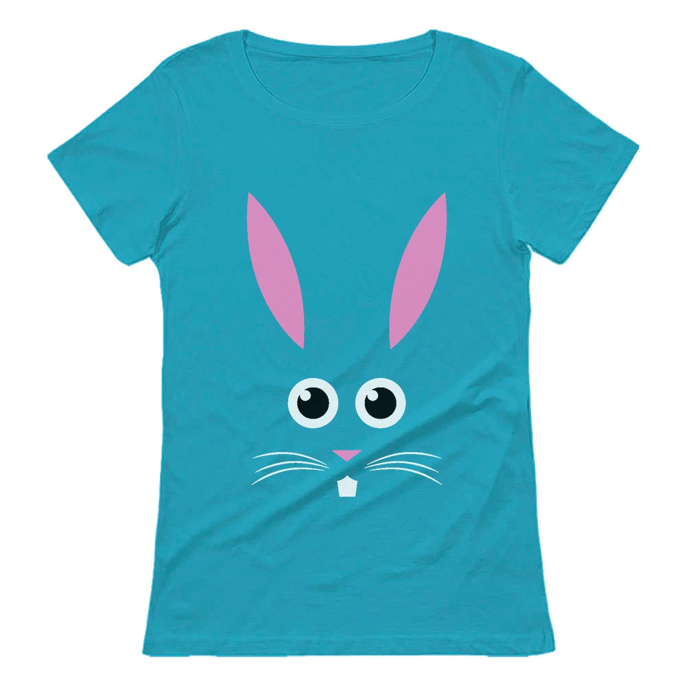 Easter Bunny Face Women T-Shirt