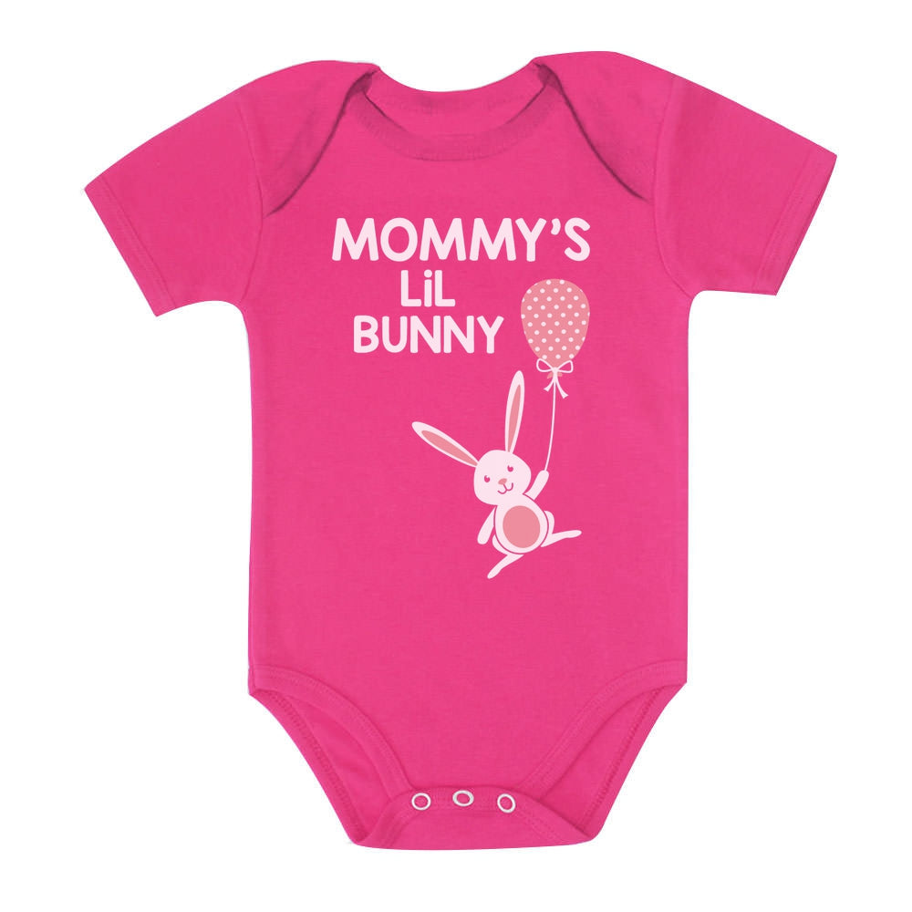 Mommy's Lil' Bunny Cute Easter Baby Bodysuit
