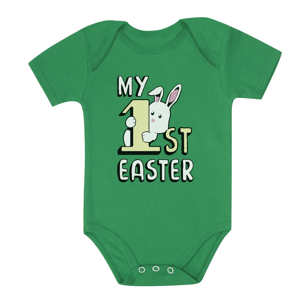 My 1st Easter Cute Bunny Baby Bodysuit