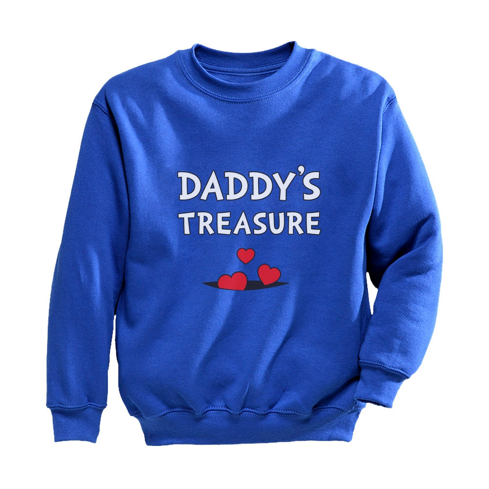 Daddy's Treasure Youth Kids Sweatshirt