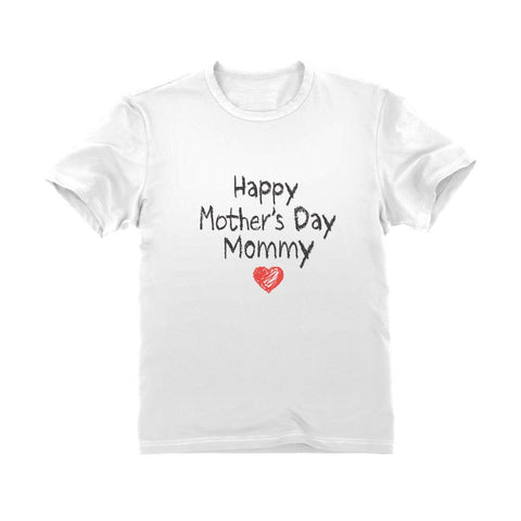 Tstars tshirts Happy Mother's Day Mommy Youth Kids T-Shirt