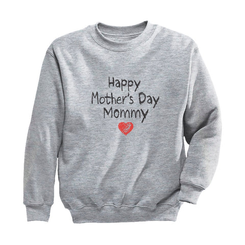 Tstars tshirts Happy Mother's Day Mommy Youth Kids Sweatshirt