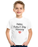 Happy Mother's Day Mommy Youth Kids T-Shirt