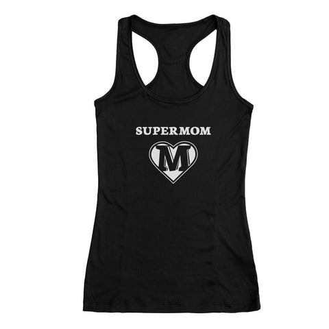 Tstars tshirts Super Mom Racerback Tank Top